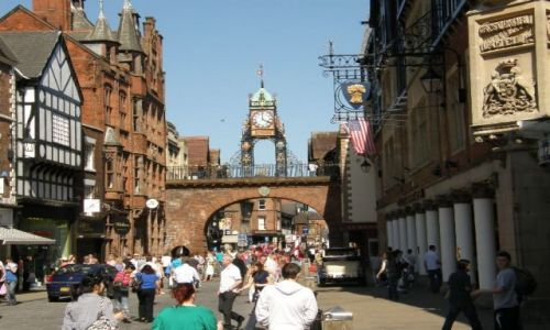 Zdjęcie WIELKA BRYTANIA / Cheshire / Chester / Chester