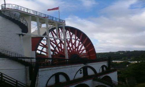 Zdjecie WIELKA BRYTANIA / Wyspa Man / Laxey / Laxey Wheel