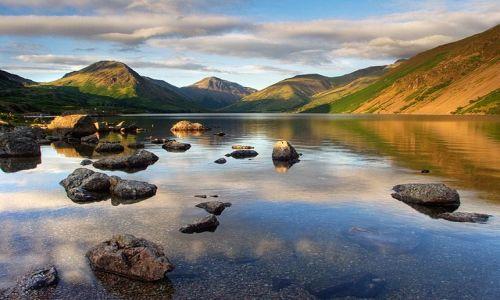 Zdjecie WIELKA BRYTANIA / Cumbria / Lake District / Wast Water