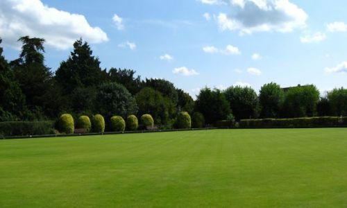 Zdjęcie WIELKA BRYTANIA / Oxfordshire / Bicester / Pole do krykieta