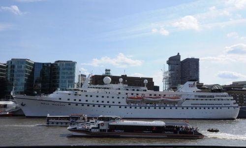 Zdjęcie WIELKA BRYTANIA / Londyn  / Tamiza / Oceaniczna Tamiza