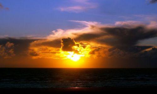Zdjęcie WIELKA BRYTANIA / Lancashire / Blackpool / zachód w Blackpool