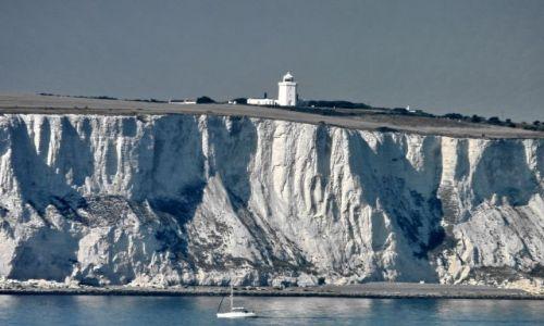 Zdjecie WIELKA BRYTANIA / Kent / Dover (5km od) / Mur broniący Anglię