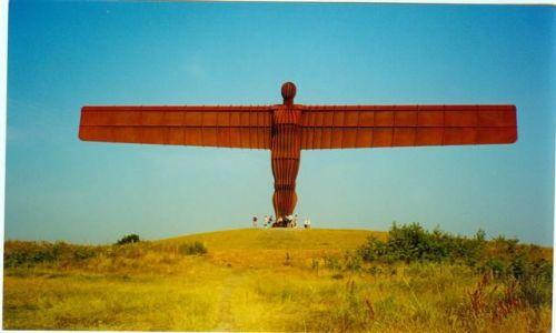 Zdjecie WIELKA BRYTANIA / Anglia / Gateshead koło Newcastle / Angel of the North