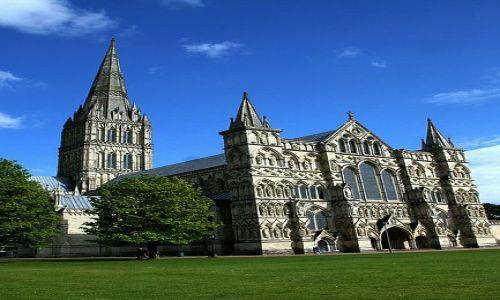 WIELKA BRYTANIA / Whiltshire / Salisbury / Katedra w Salisbury