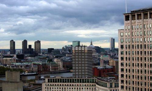 WIELKA BRYTANIA / - / Londyn / Panorama Londynu z London Eye