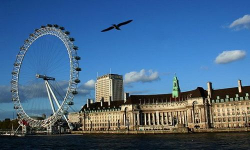 WIELKA BRYTANIA / - / Londyn / Widok na London Eye