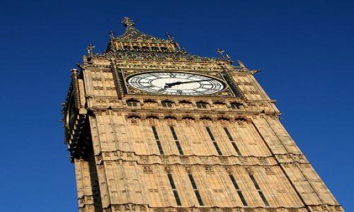 WIELKA BRYTANIA / - / Londyn / Big Ben Top