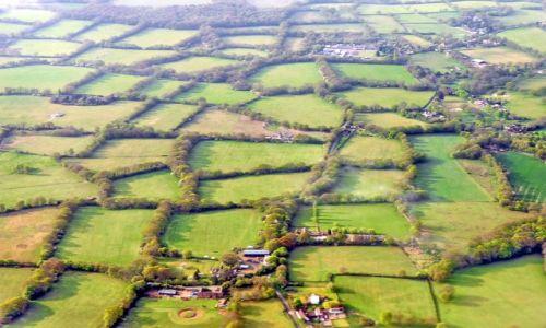Zdjecie WIELKA BRYTANIA / Crawley / nieopodal gatwick / Angielski krajobraz