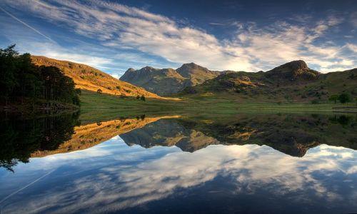 Zdjęcie WIELKA BRYTANIA / Cumbria / Lake District / Blea Tarn