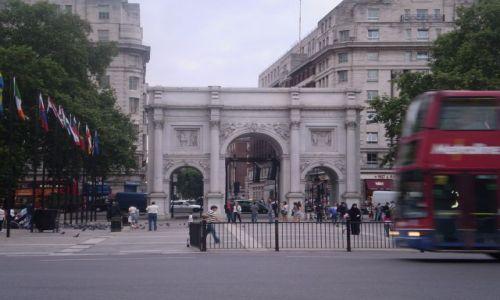 Zdjecie WIELKA BRYTANIA / Londyn / Marble Arch / Marble Arch