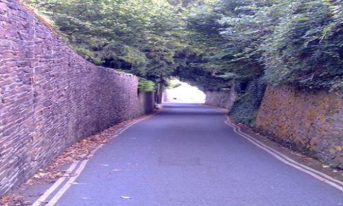 Zdjęcie WIELKA BRYTANIA / Devon / Dartmouth / Droga do pracy