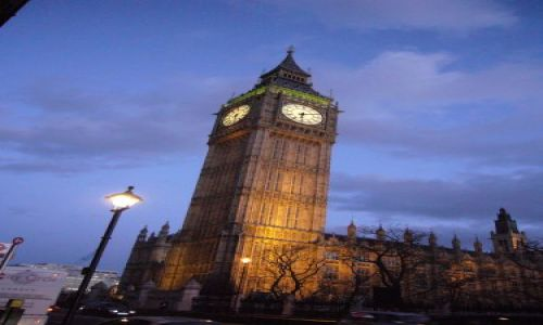 Zdjecie WIELKA BRYTANIA / marzen / london / big ben