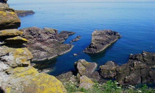 Zdjecie WIELKA BRYTANIA / Cornwall / Land's End / na kra�cu wyspy