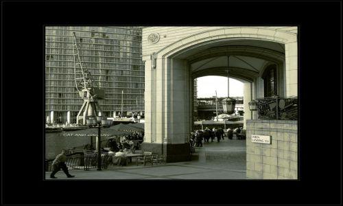 Zdjęcie WIELKA BRYTANIA / londyn / canary wharf / dla zasady