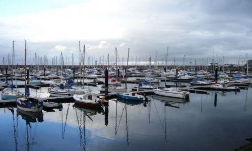 Zdjecie WIELKA BRYTANIA / Irlandia Północna / Bangor / Marina w Bangor nad Belfast Lough