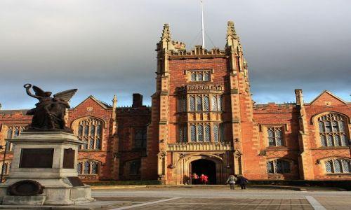 Zdjęcie WIELKA BRYTANIA / Irlandia Północna / Belfast / Belfast Queen's University