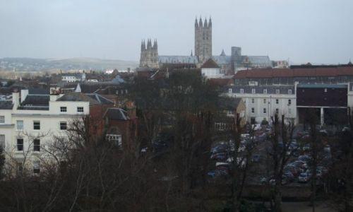 Zdjęcie WIELKA BRYTANIA / Kent / Canterbury, katedra  / ... pierwszy wgląd ...