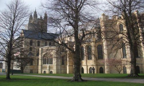 Zdjęcie WIELKA BRYTANIA / Kent / Canterbury, katedra  / ... duże też jest .... piękne ...