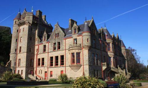 Zdjęcie WIELKA BRYTANIA / Irlandia Północna / Belfast / Belfast Castle