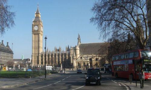 Zdjęcie WIELKA BRYTANIA / Londyn / Okolice Westminster / ... 'okolice' od srony opactwa ....