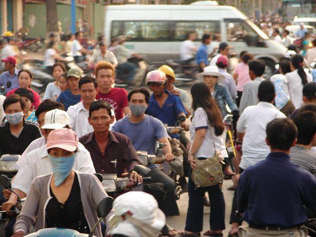 Zdjęcia: Sajgon , Ruch uliczny , WIETNAM