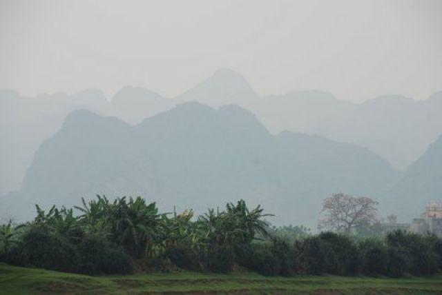 Zdj�cia: 50 km. od Hanoi, Pagoda Huong, Na szlaku, WIETNAM