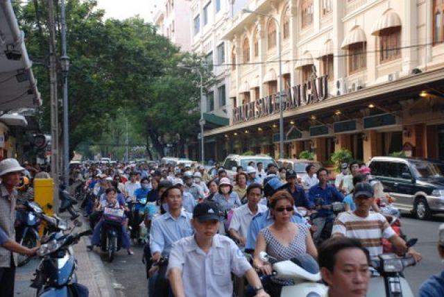 Zdj�cia: Dong Khoi St., HCM City, Sajgonskie klimaty, WIETNAM