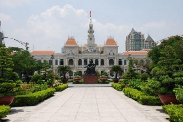 Zdjęcia: Le Thanh Ton, HCM City, Ratusz, WIETNAM
