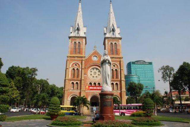 Zdj�cia: Nguyen Du, HCM City, Katedra , WIETNAM