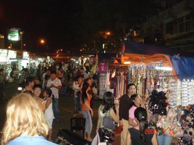 Zdjęcia: Ben Than, HCM City, Ben Than nocą, WIETNAM