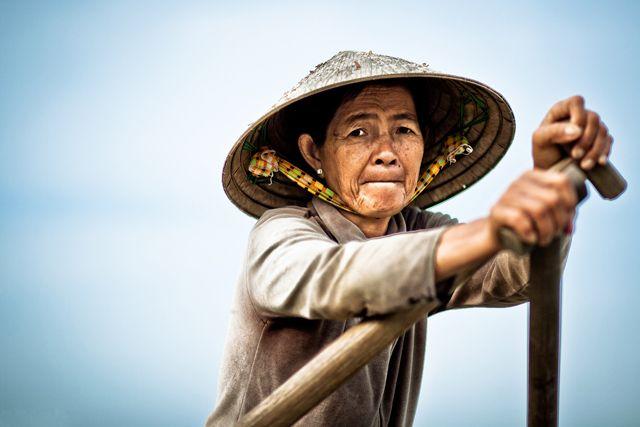 Zdjęcia: okolice Vinh Long, Wietnam, W drodze na targ, WIETNAM