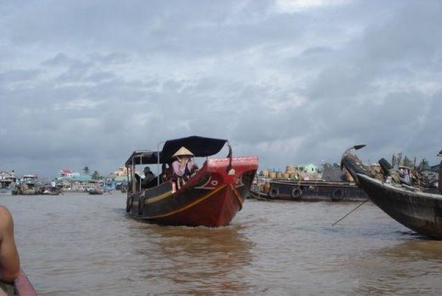 Zdjęcia:  Mekong, Delta Mekongu, Transport rzeczny, WIETNAM