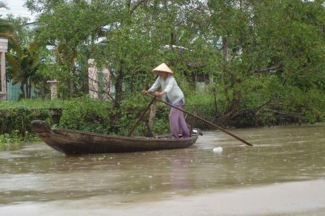 Zdj�cia:  Mekong, Delta Mekongu, Widoczki, WIETNAM
