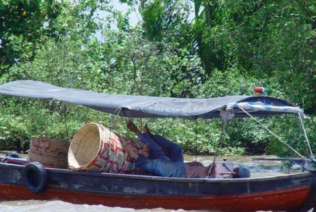 Zdjęcia:  Mekong, Delta Mekongu, Po lunhu, WIETNAM