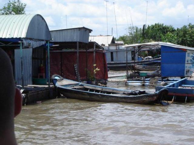 Zdjęcia:  Mekong, Delta Mekongu, Życie na wodzie, WIETNAM