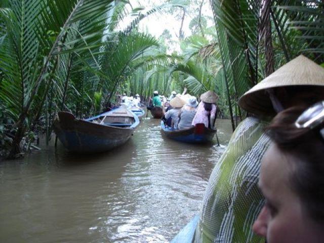 Zdjęcia: Delta  Mekongu, Mekong, Widoczki, WIETNAM