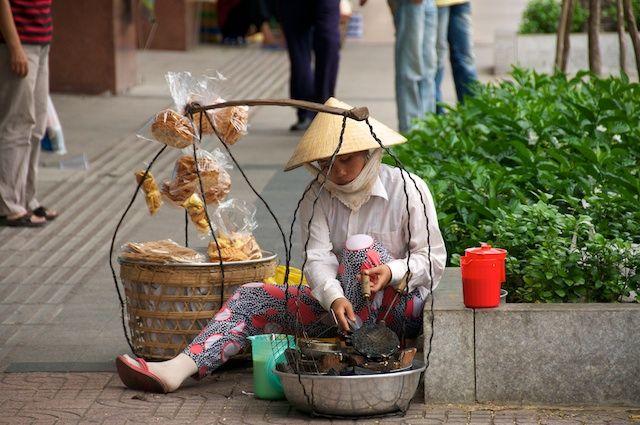 Zdjęcia: Ho Chi Minh, Street food (Ho Chi Minh, Vietnam), WIETNAM