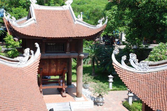 Zdjęcia: Quoc Tu Giam Str., Hanoi, Pierwszy Uniwersytet w Hanoi-Thai Hoc courtyard, WIETNAM