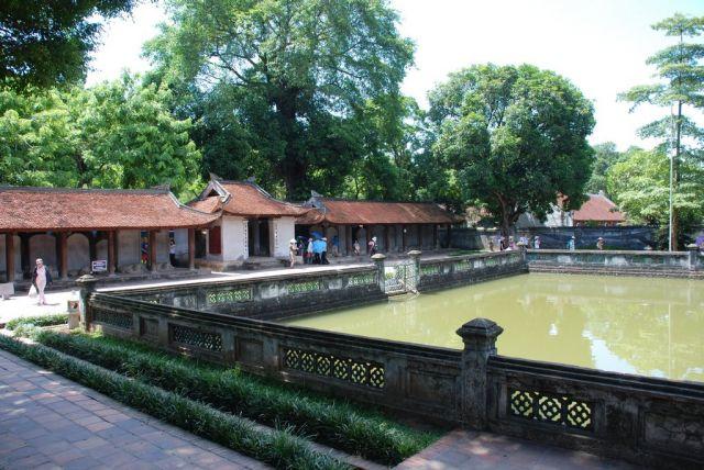 Zdj�cia: Quoc Tu Giam Str., Hanoi, Pierwszy Uniwersytet w Hanoi, WIETNAM