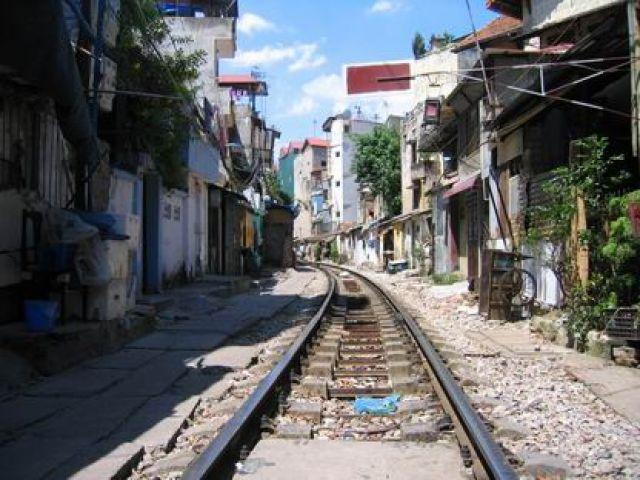 Zdjęcia: centrum Hanoi, północny Wietnam, w kierunku dworca głównego, WIETNAM