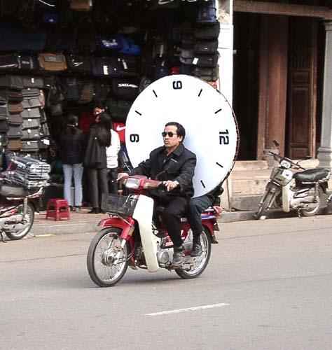 Zdjęcia: Hanoi, Czas to pieniądz, WIETNAM