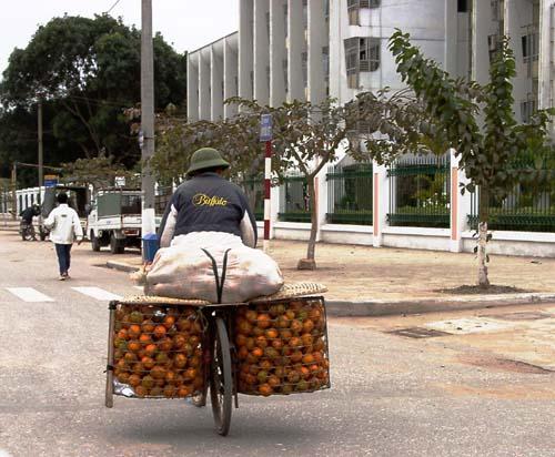 Zdjęcia: Hanoi, Ekologiczna ciężarówka, WIETNAM