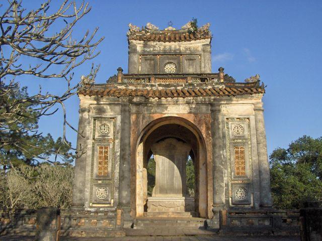 Zdj�cia: Hue - zesp� grobowc�w kr�lewskich, Hue, WIETNAM