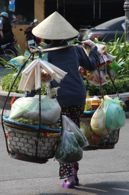Zdjęcia: Sajgon, Sajgon, Mobilny supermarket, WIETNAM