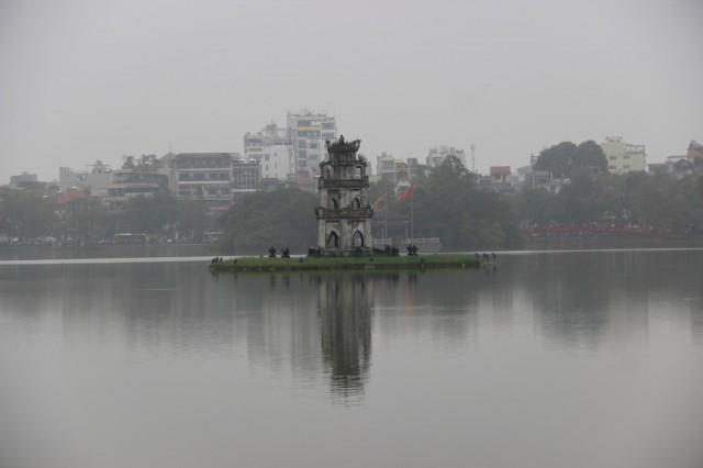 Zdjęcia: Hanoi, Północny Wietnam, Jezioro zwróconego miecza, WIETNAM
