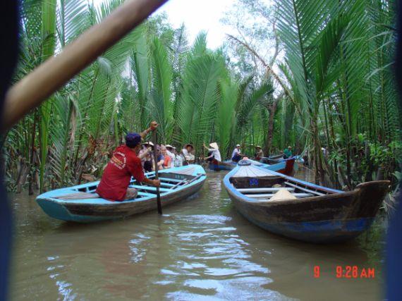 Zdjęcia: Południowy Wietnam, Delta Mekongu, Kanał, WIETNAM