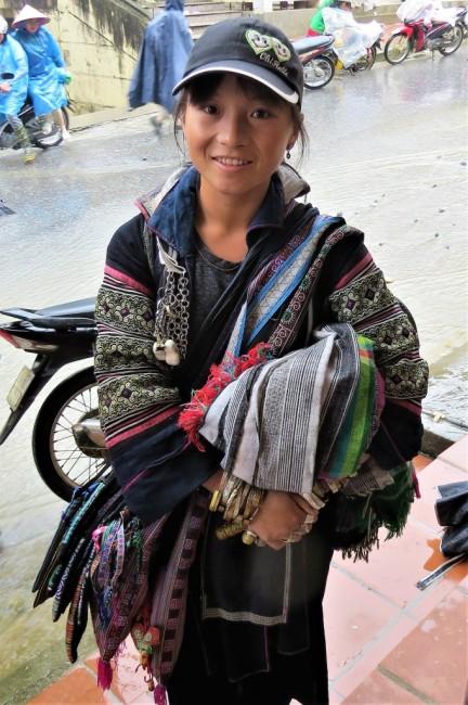 Zdjęcia: Sa Pa, Lao Cai, Pani z ludu Hmong, WIETNAM