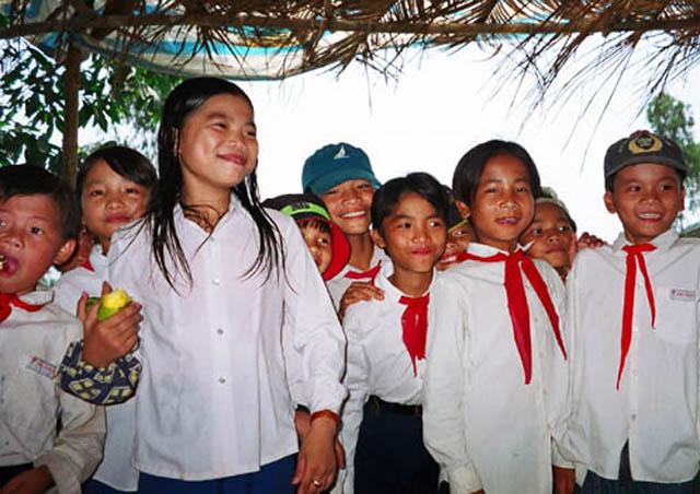 Zdjęcia: Wietnam, Wietnam Pd., Pionierzy, WIETNAM