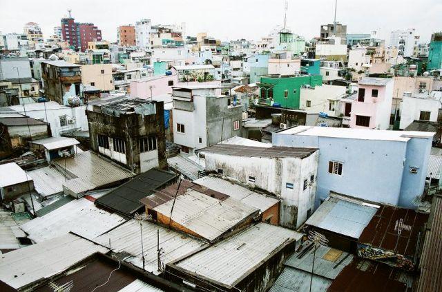 Zdjęcia: Ho Chi Minh , Saigon, Ho Chi Minh, dachy Saigonu, WIETNAM